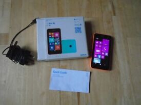 Nokia Lumia 530 with charger/box etc