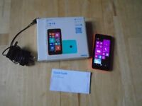 Nokia Lumia 530 with charger/box etc