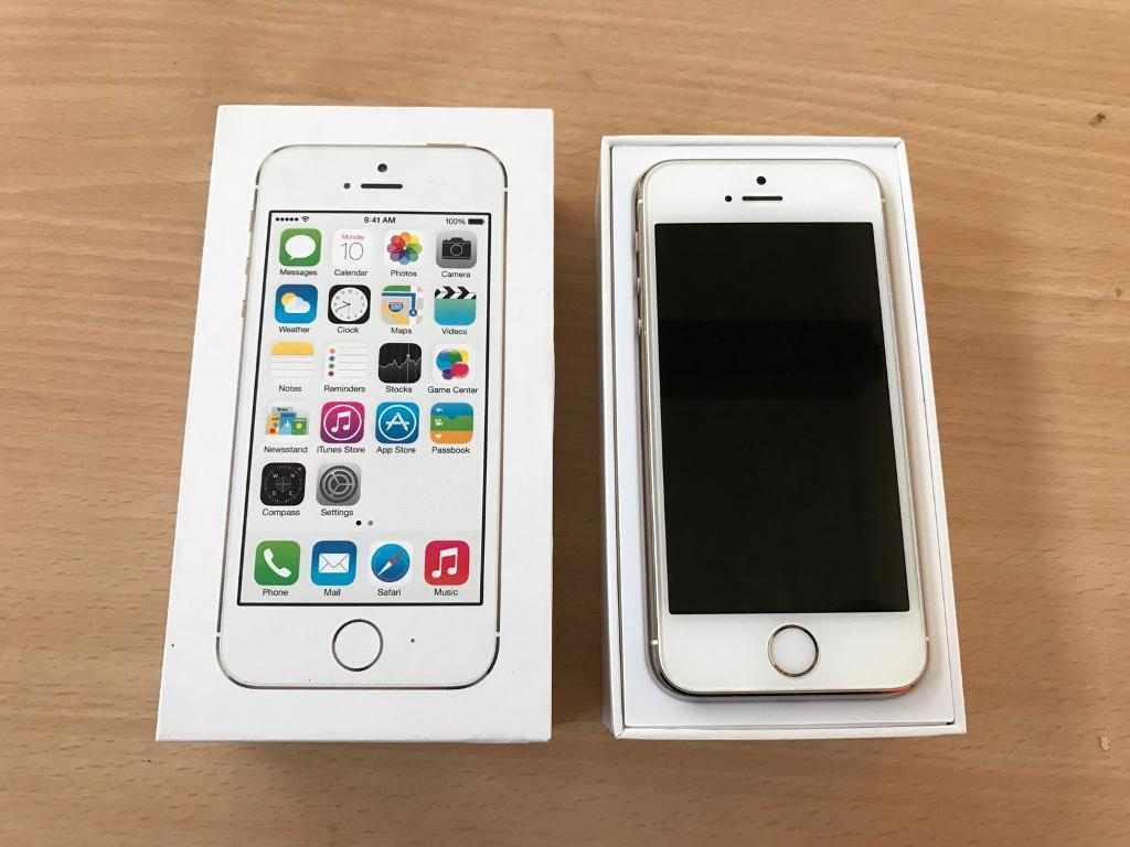 Iphone 5s 16gb unlocked/IMMACULATE CONDITIONin Clapham, LondonGumtree - Iphone 5s 16gb gold unlocked in immaculate condition. No scratches, marks or dents. Comes boxed with genuine apple chargerI offer u to meet me and check the phone for as long as you want. I am happy to show you my ID. If you want the IMEI number...
