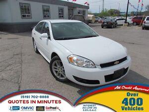 2012 Chevrolet Impala LTZ | LEATHER | SAT RADIO | ALLOYS