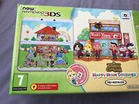 Animal Crossing New Nintendo 3DS limited edition perfect condition!