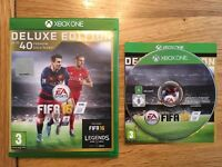 FIFA 16 Deluxe Edition- Xbox one