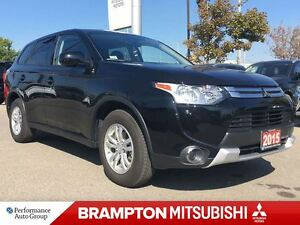 2015 Mitsubishi Outlander ES 4WD (ONE OWNER! BLUETOOTH!)