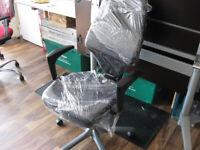 Office chairs BLACK like brand new A1 mint condition