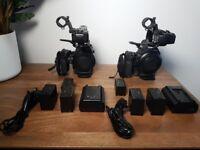 Canon C100 EOS Cinema Camcorder EF Mount