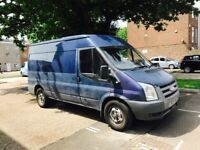 2007 ford transit 1 year mot