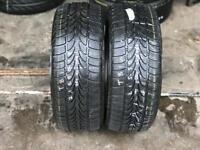 2 part worn tyres 215/50/17 ROCKSTONE ECO SNOW