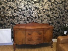 Large Walnut Sideboard