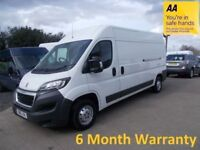 Peugeot Boxer 335 2.2 Hdi 130 L3H2 Professional ** Manufacturers Warranty until April 2019