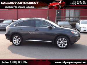 2010 Lexus RX 350 AWD/NAVI/B.CAM/H. REST DVD/LEATHER