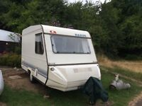 Adria Optima 2 berth touring caravan for sale - lovely condition