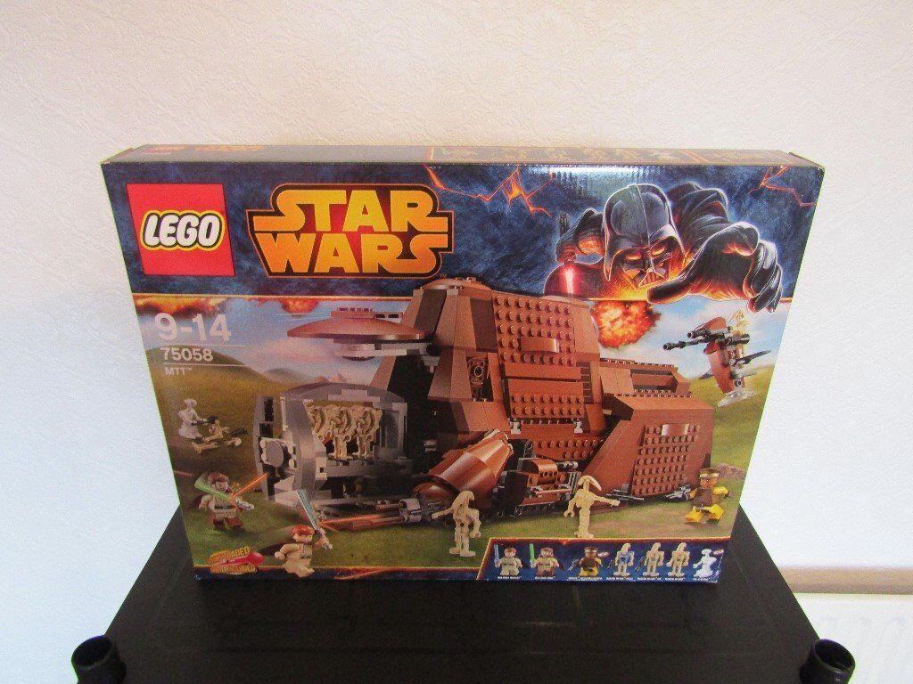 lego star wars MTT droid carrier 75058