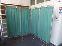 MEDICAL SCREENS ..changing room screens ...2 for sale