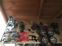 SCHUMACHER RASCAL RC CAR SPARES