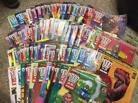 Large Collection Judge Dredd Comics