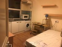 Single Bed Studio Flat on Acton High Street - All Bills Included