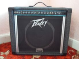 PEAVEY BANDIT 112 GUITAR AMP WITH FOOT-SWITCH FOR SALE