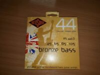 Pack of RotoSound Bronze Bass strings