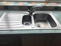 Sink and mixer tap