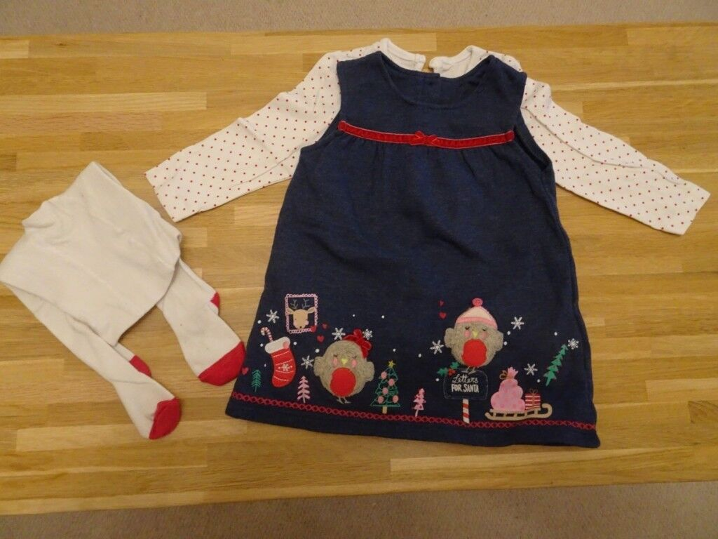 42cd8820fd39 Girls Christmas outfit