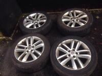 """17"""" Vauxhall Vectra SRi Facelift Alloys 5x110"""