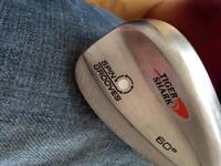 Tiger Shark spin groove 60 degree lob wedge