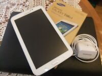 Samsung Galaxy Tab 3 SM-T210 8GB, Wi-Fi, 7in - White GOOD CONDITION
