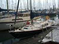 Corribee, 21 ft 4 berth sailing boat with 5 HP Mariner outboard, Zodiac inflatable, Suzuki 2.5 HP