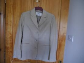 Women's Johnstones 50% Cashmere 50% Linen Jacket , size 8/10- New