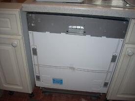 New Beko Integrated Dishwasher with 2 year Beko Warranty