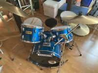 Cannon Adder Drum Kit and stool