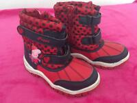 Peppa pig winter boots