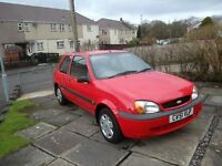 FORD FIESTA 2001 SPARES OR REPAIR