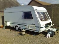 Swift Rapide 440 GXL 4 berth caravan including all extras so ready to go