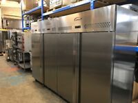 Williams Double Door Upright Fridge Stainless Steel 1288Ltr HG2T-SA