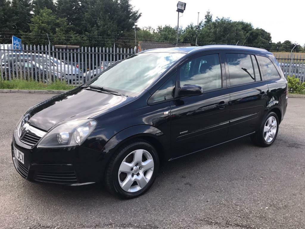 vauxhall zafira 1 9 cdti energy 7 seats black 2007 in maidstone kent gumtree. Black Bedroom Furniture Sets. Home Design Ideas