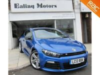 2012 VOLKSWAGEN SCIROCCO TSI R,261 BHP,PETROL,MANUAL,1 OWNER,FULL HISTORY,BLUETOOTH,18 INCH ALLOYES,