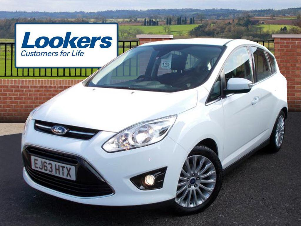 ford c max 1 6 tdci titanium 5dr white 2013 11 29 in colchester essex gumtree. Black Bedroom Furniture Sets. Home Design Ideas