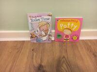 2 x potty training books