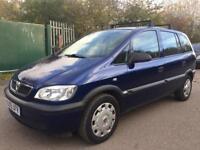 Vauxhall Zafira 1.8 i 16v Life MPV 5dr Petrol Automatic HPI CLEAR