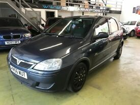 VAUXHALL CORSA 1.2 DESIGN 2006, 5 DOOR, 68053 MILES F.S.H, 12 MONTH MOT. OUTSTANDING CONDITION