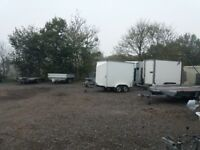 Storage available. Cars. Trailers. Small boats. Small caravans