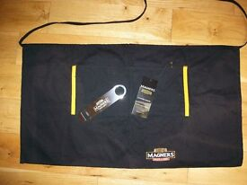 Bulk sale of BRAND NEW Magners Cider merchandise (Bar aprons, bottle openers & Ballpoint Pens)
