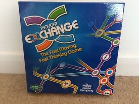 Thought exchange board game