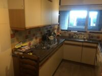 complete kitchen and appliances. good condition and all working