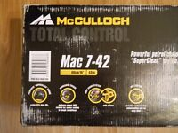 McCULLOCH Mac 7-42 /40cm/ PETROL CHAIN SAW - New in a closed box. Not used