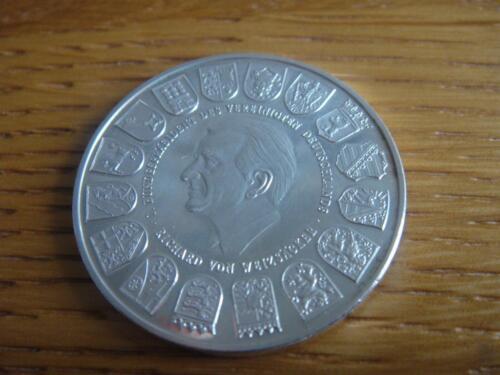 Münze Einigkeit Und Recht Und Freiheit In Nordrhein Westfalen