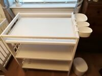 Ikea white changing table