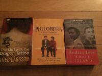 Selection of books for sale £1 each