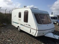 Swift charisma 324 16ft 2 berth end changing area 2003 L shape lounge with drop style